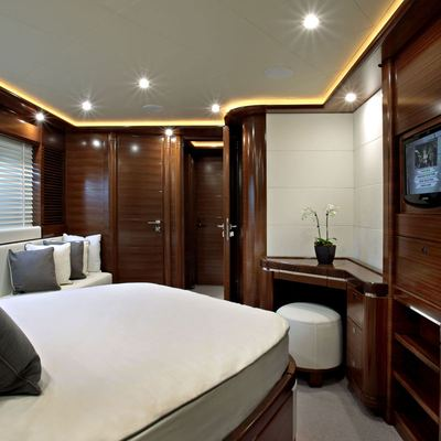 Libertas Yacht Stateroom - Screen