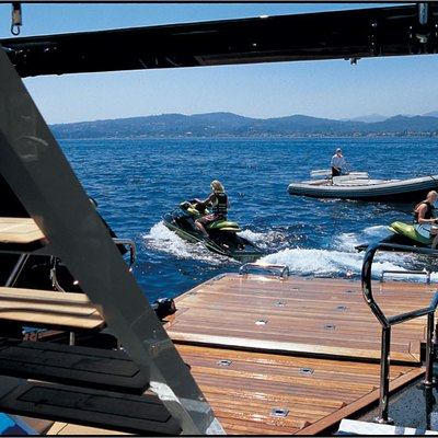 Parsifal III Yacht Water Toys
