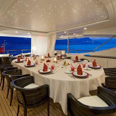 Latitude Yacht Upper Aft Deck