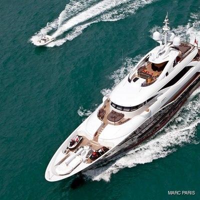 Liberty Yacht Overhead