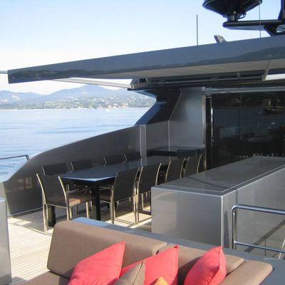 4A Yacht Flybridge View Inside