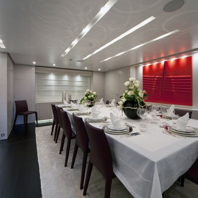 Baraka Yacht Dining Salon
