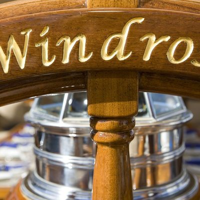 Windrose of Amsterdam Detail