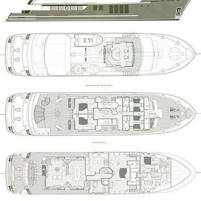 RH3 Yacht Deck Plans