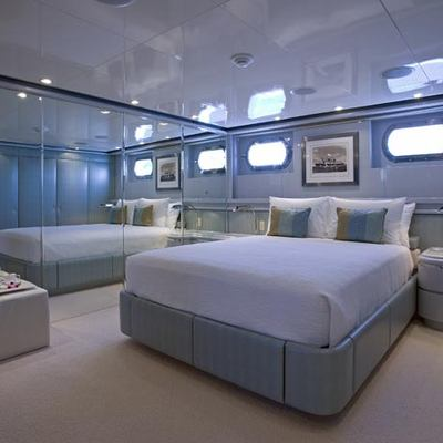 Maverick II Yacht Blue Guest Stateroom