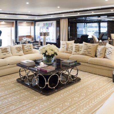Alfa Nero Yacht Salon - Seating