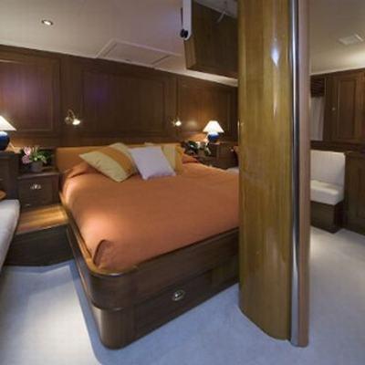 Tiziana Yacht Master Stateroom