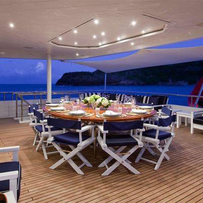 Diamond Yacht Bridge Deck Aft