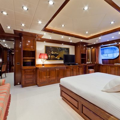 Sophie Blue Yacht Master Stateroom - Screen