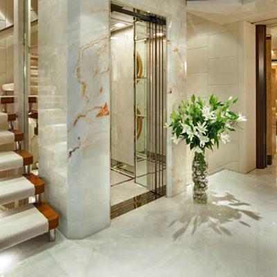 Sycara V Yacht Lobby - Elevator