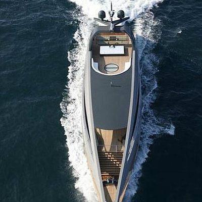 Ocean Emerald Yacht Running Shot - Overhead