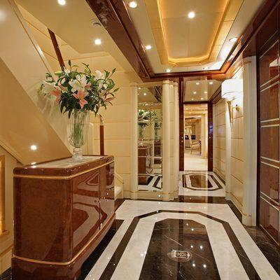 Platinum Yacht Main Lobby
