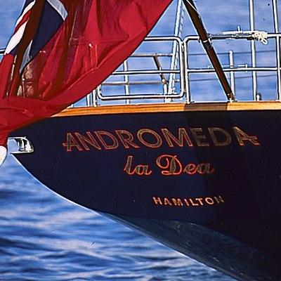 Andromeda la Dea Yacht Stern