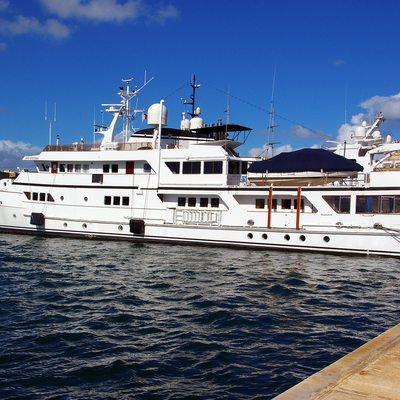 Sanssouci Star Yacht Moored