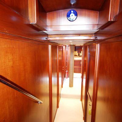Gem Yacht Hallway - Stairs
