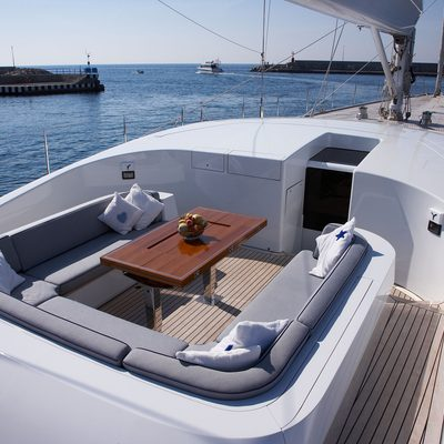 A Sulana Yacht Deck Seating
