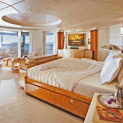 Sycara V Yacht Master Stateroom - Side View