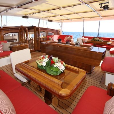 Marie Yacht Cockpit Seating