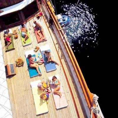 Matina Yacht Sunbathing