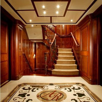 Nomad Yacht Staircase