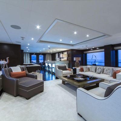 Revelry Yacht Main Salon & Bar