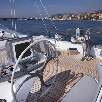 A Sulana Yacht Wheel