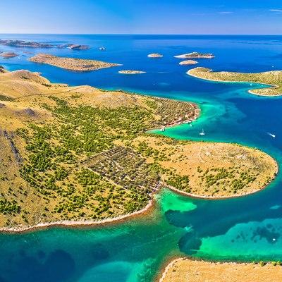 Island hop in the Kornati Archipelago