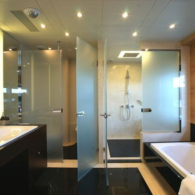 Tatiana Yacht Private Bathroom