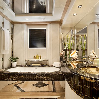Eclipse Yacht Master Bathroom