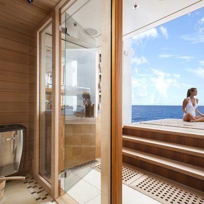 Lady Britt Yacht Sauna