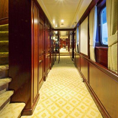 Legend Yacht Master Hallway