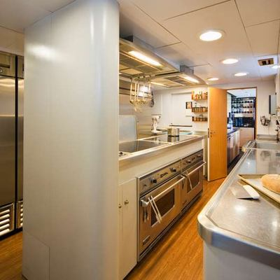 Big Eagle Yacht Galley