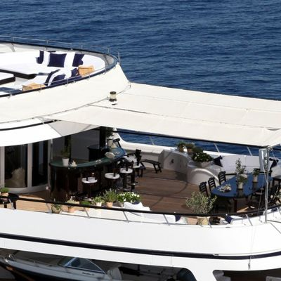 Virginian Yacht Deck - Aerial View