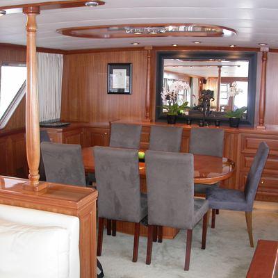 Ava Yacht Dining Salon