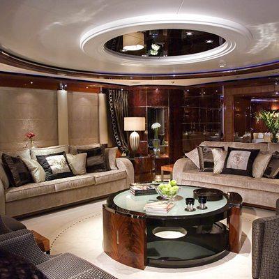 Talisman Maiton Yacht Main Saloon Seating
