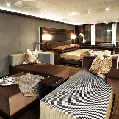 Inception Yacht VIP Stateroom