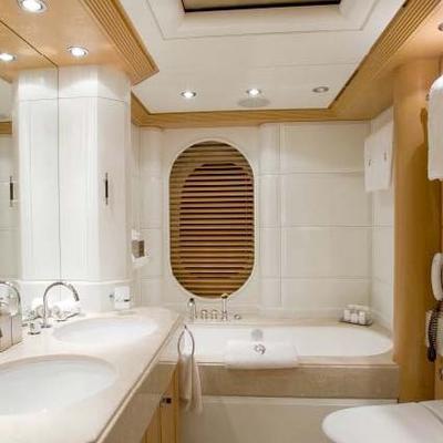 Mercury Yacht Master Bathroom