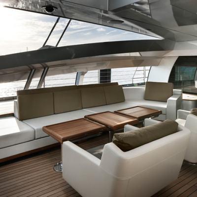 Vertigo Yacht Exterior Seating