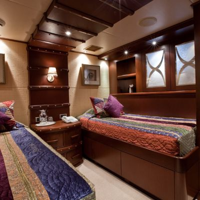 Lagniappe Yacht Twin Guest Stateroom