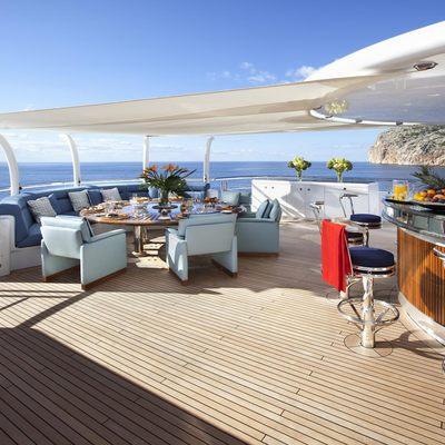 Sycara V Yacht Aft Sundeck