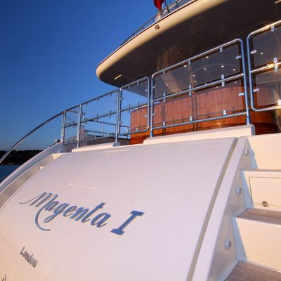 Magenta Yacht