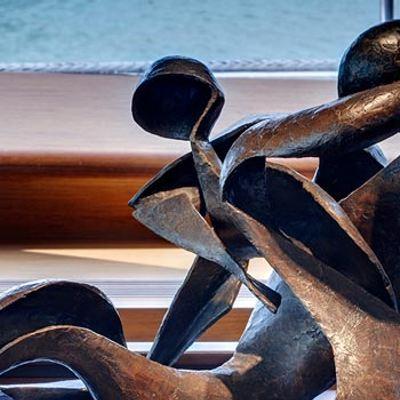 Kokomo Yacht Detail - Sculpture
