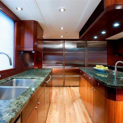 Avalon Yacht Galley Forward