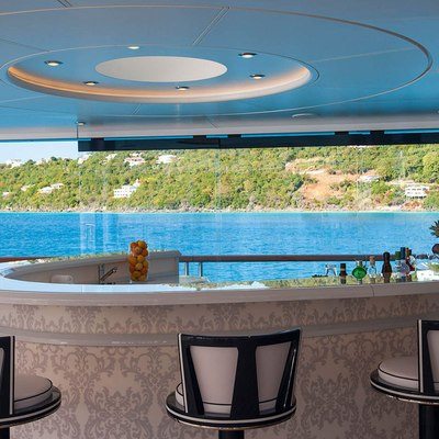 Solandge Yacht Bar On The Exterior