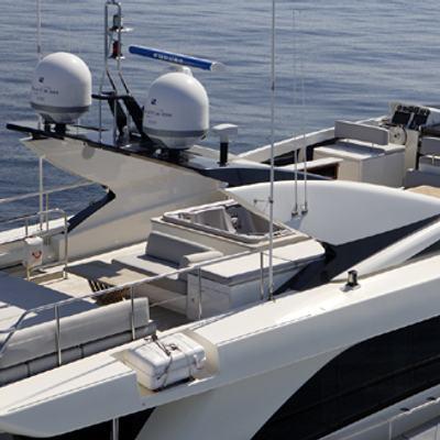 Dragon Yacht Aerial View - Deck