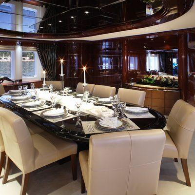 Talisman Maiton Yacht Dining Saloon