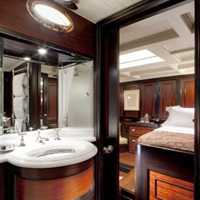 Shamrock V Yacht Master bathroom