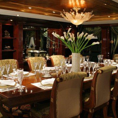 Ionian Princess Yacht Table Set