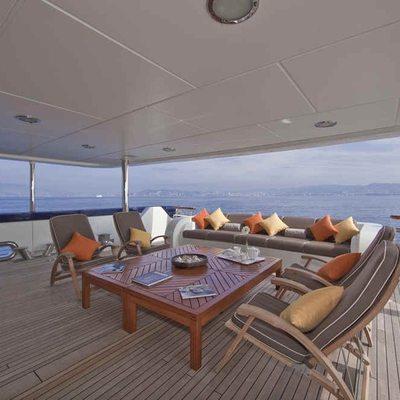 Deja Too Yacht Lower Deck
