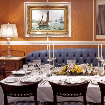 MITseaAH Yacht Dining Room